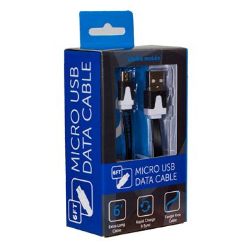 Picture of BLUFIRE MICRO CABLE 6FT BLACK