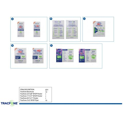 Picture of TRACFONE COLLATERAL KIT