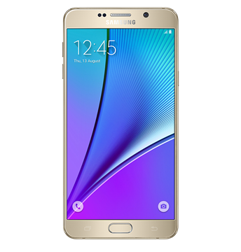 Picture of SAMSUNG GALAXY NOTE 5 ATT GOLD PLATINUM LTE