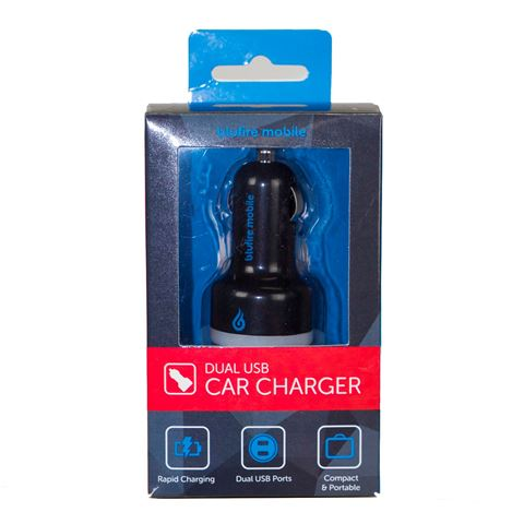 Picture of BLUFIRE CAR CHARGER BLACK