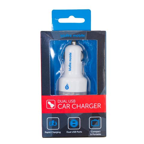 Picture of BLUFIRE CAR CHARGER WHITE