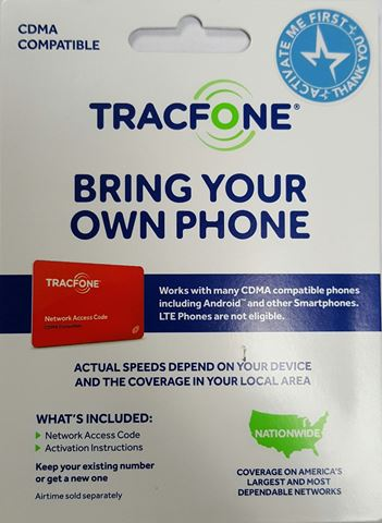 Picture of TRACFONE BYOP SIM