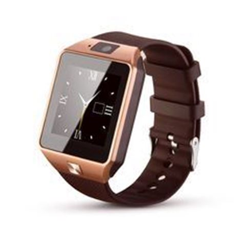 Picture of BRIGHTWRIST SMARTWATCH GOLD BAND/BROWN FACE