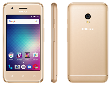 Picture of BLU DASH L3 GOLD