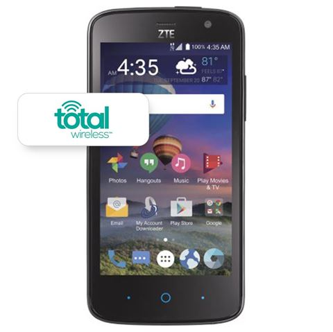 Picture of TOTAL WIRELESS ZTE MAJESTY PRO