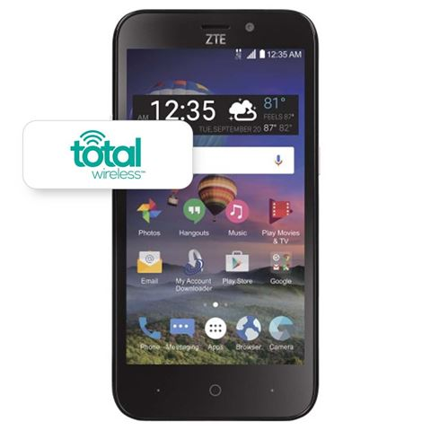 Picture of TOTAL WIRELESS ZTE Z FIVE
