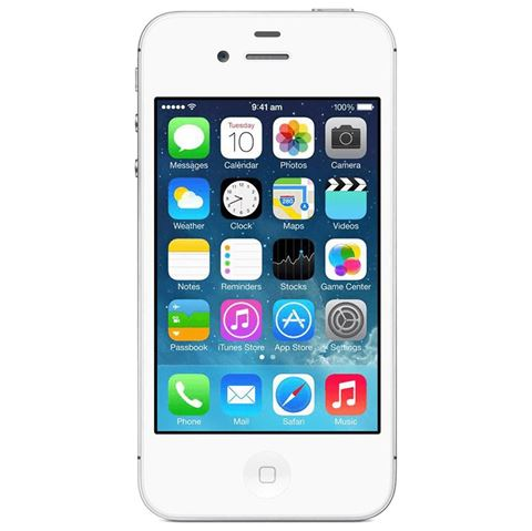Picture of APPLE iPHONE 4S 16GB WHITE B/STOCK