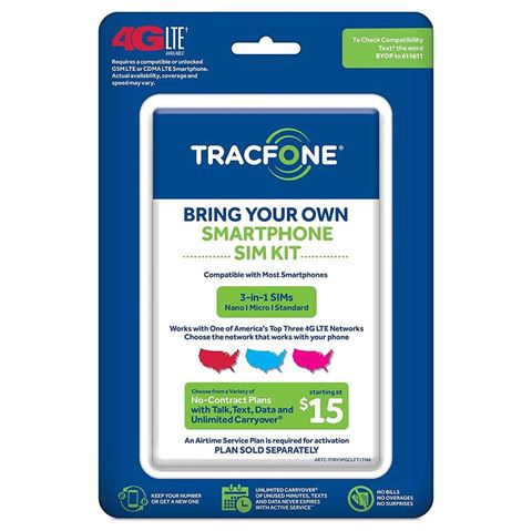 Picture of TRACFONE TRIPLE PUNCH SIM