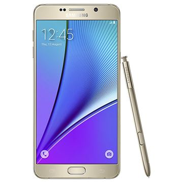 Picture of Samsung Galaxy Note 5 Gold A/B Stock