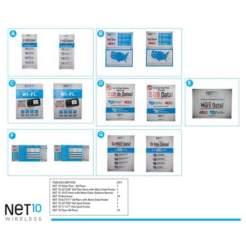 Picture of NET10 COLLATERAL KIT