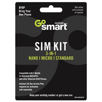 Picture of GOSMART TRIPLE PUNCH SIM